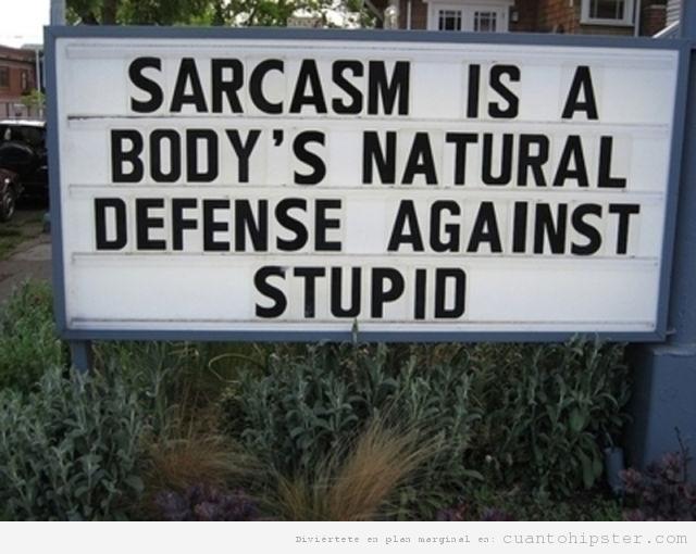 Los hipster utilizan el sarcasmo como defensa ante la estupidez