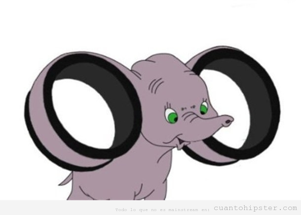 Dumbo with Gauges