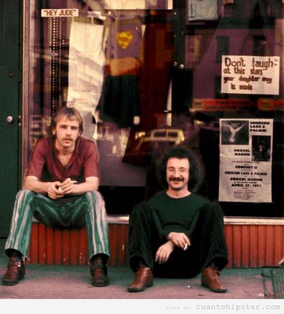 Años groovies y hipsters en Estados Unidos, años 70