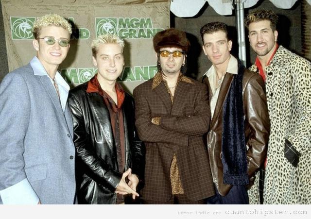 n'Sync eran hipsters antes que tu