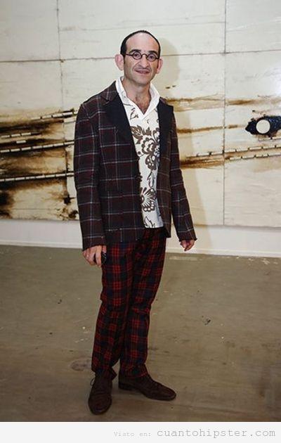 Señor de Moscu, Rusia, con look hipster