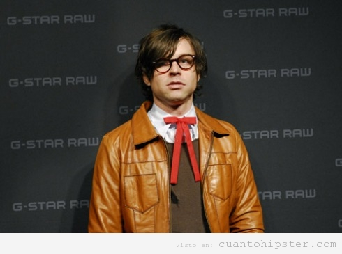 Ryan Adams, msico indie de Country Rock Alternativo con look hipster