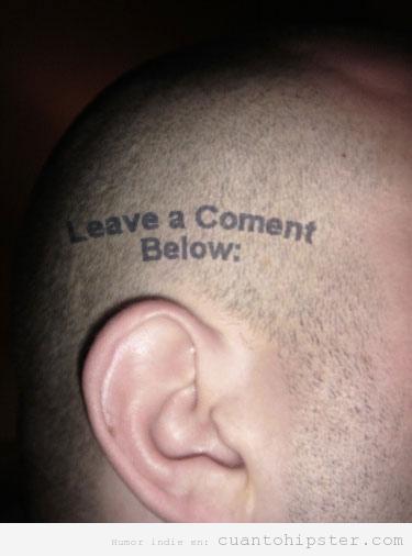 Tatuaje hipster con la cabeza zapata: leave a comment below
