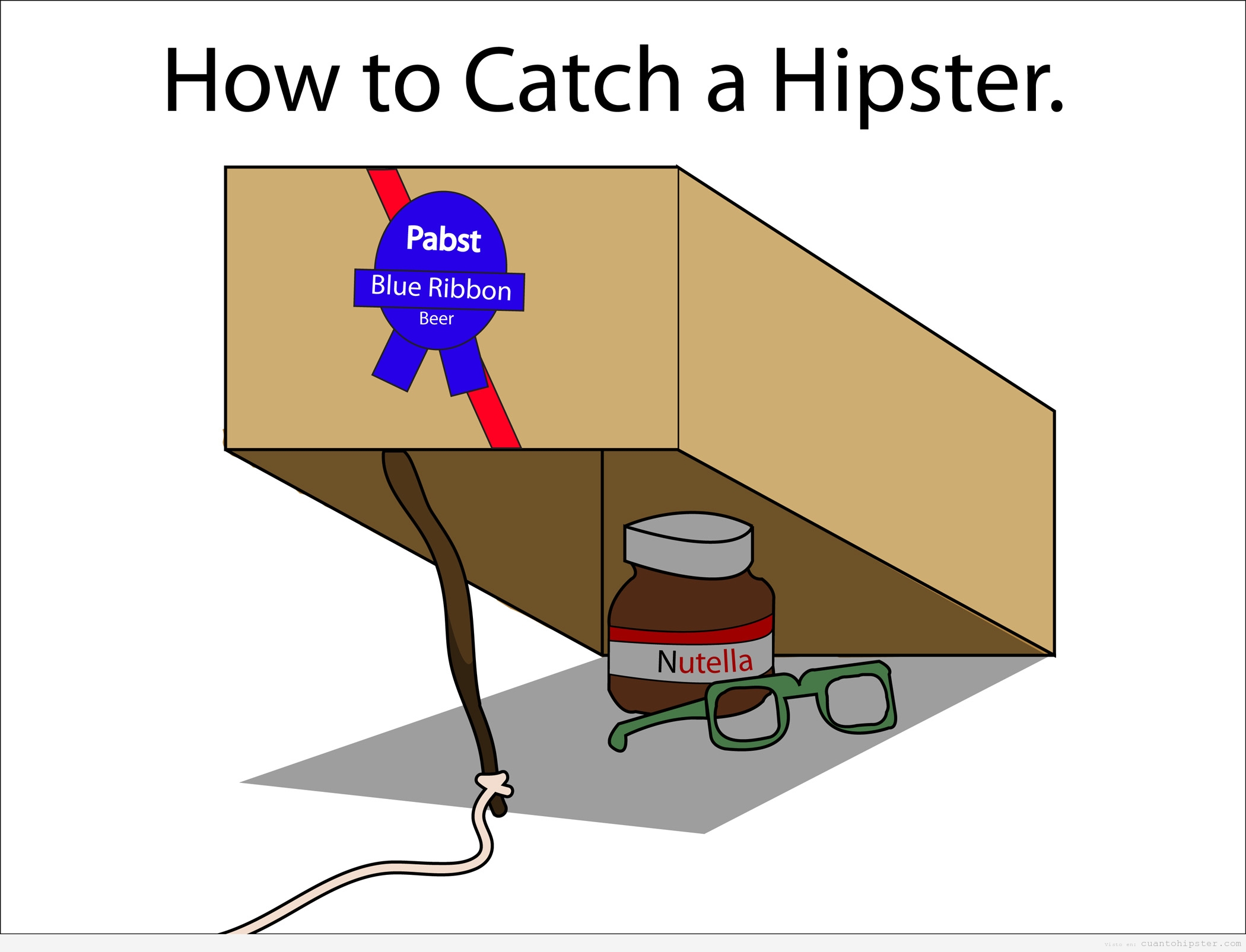 http://cuantohipster.com/wp-content/uploads/2012/08/how-to-catch-a-hipster-trampa-hipsters.jpg