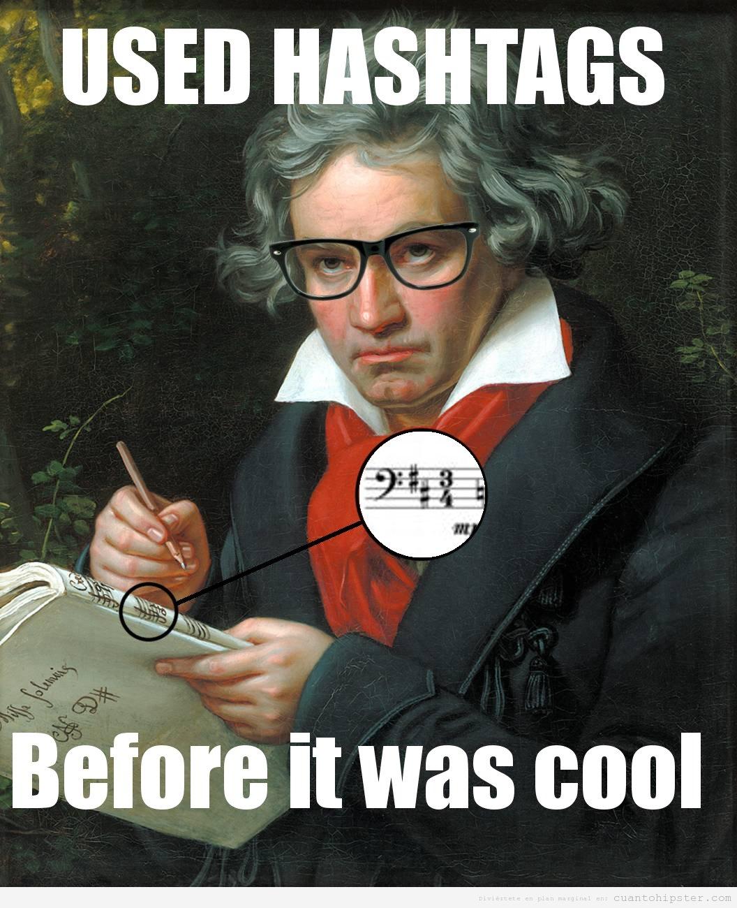 Funny Meme Hashtags : Beethoven hilarious pinterest