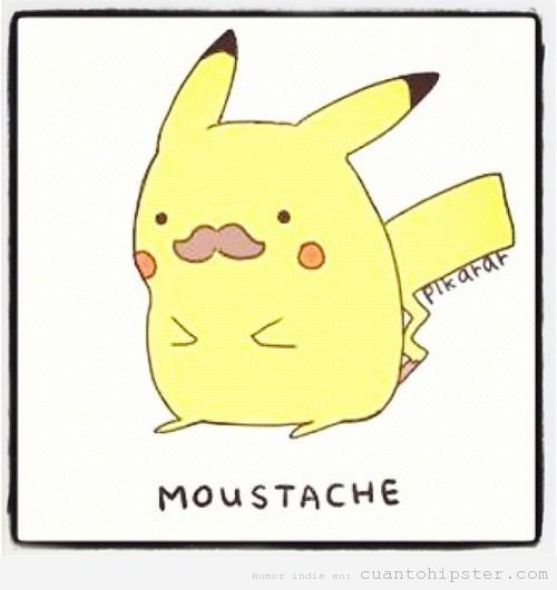 Pikachu tierno con bigote - Imagui