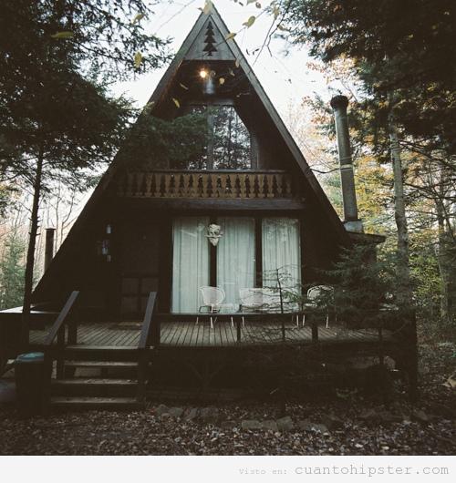 Casa hipster cu nto hipster - Casitas en el bosque ...