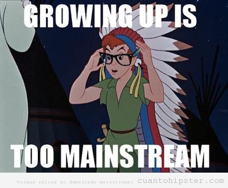Meme Peter Pan Hipster