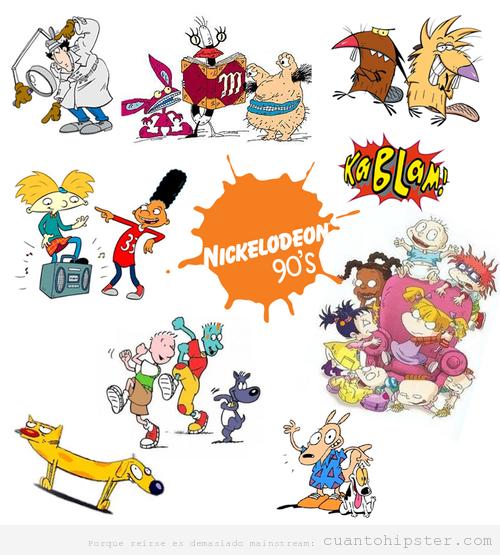Nickelodeon 90's kids