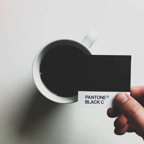 Café negro Pantone