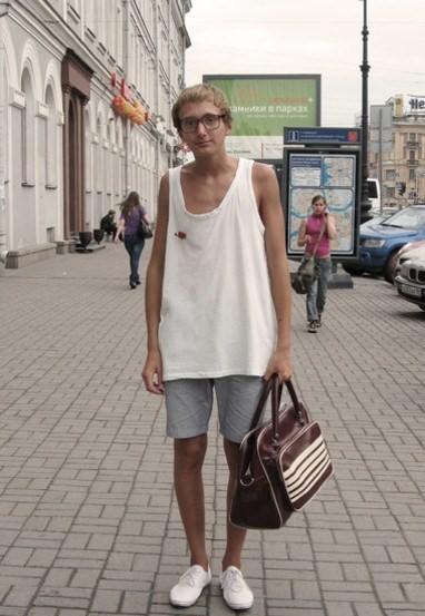 Woody Allen joven look hipster