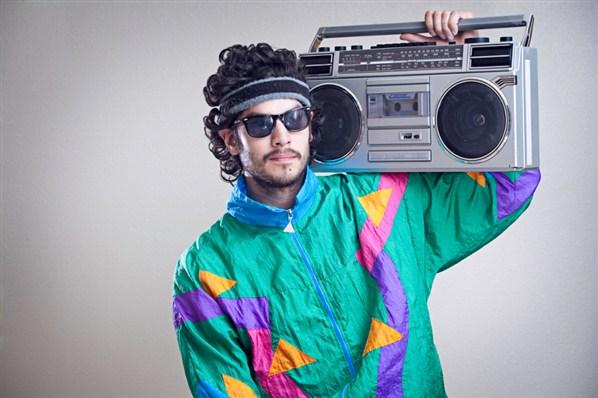 Look hipster, chaqueta de chándal de tactel