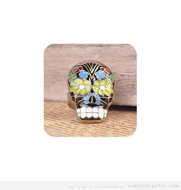 anillo-calavera-sugar-skull
