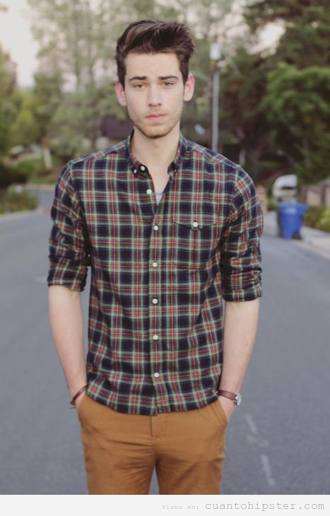 Moda hipster de oto o invierno para chicos esto es for Cuadros guapos