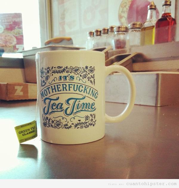 Taza de té original