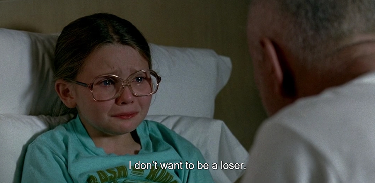 I don't want to be a loser, Little Miss sunshine