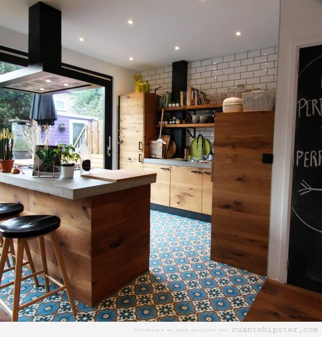Cocinas cu nto hipster for Cocinas vintage modernas