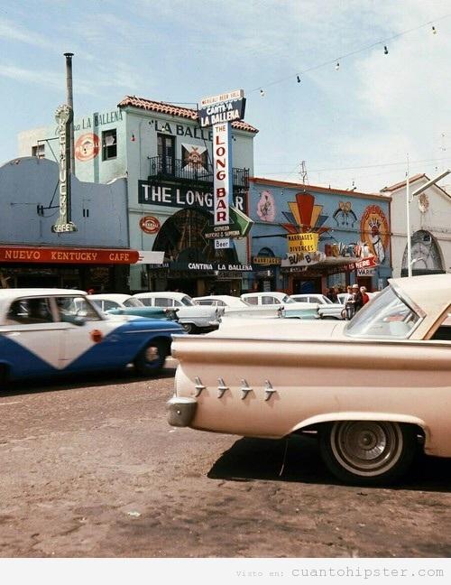 Foto vintage Estados Unidos años 50 o 60