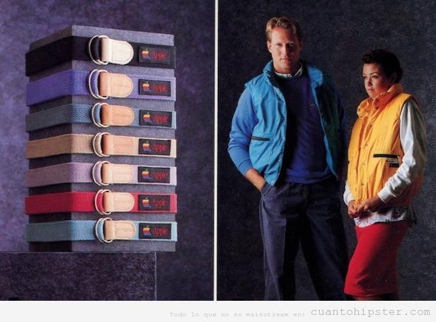 Colección ropa marca Apple 1986
