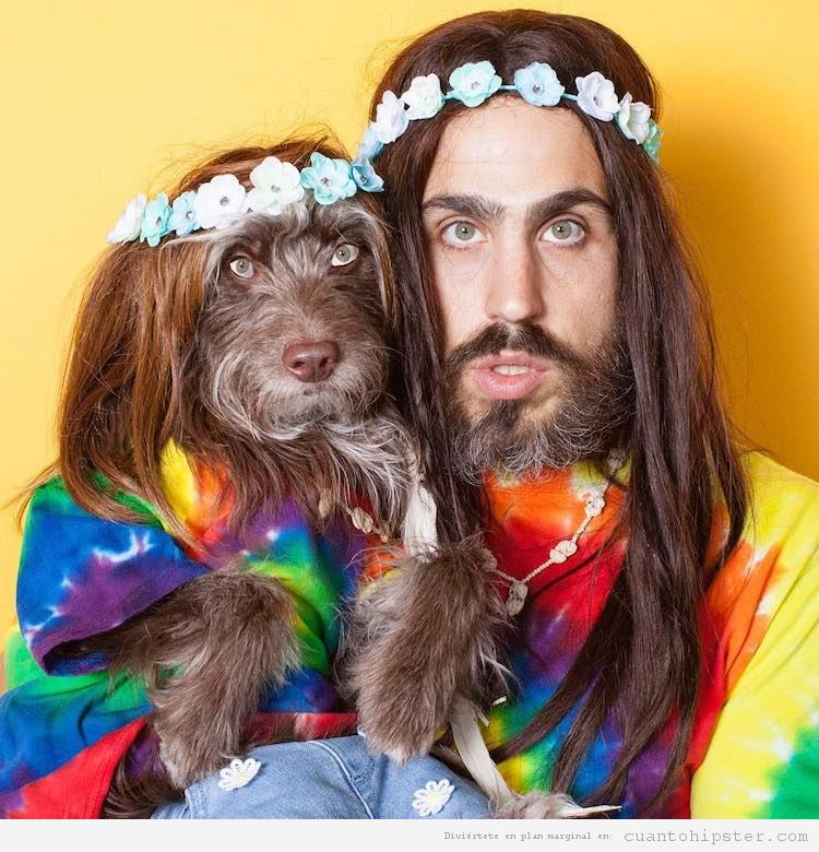 Foto hipster parecido a su perro 3
