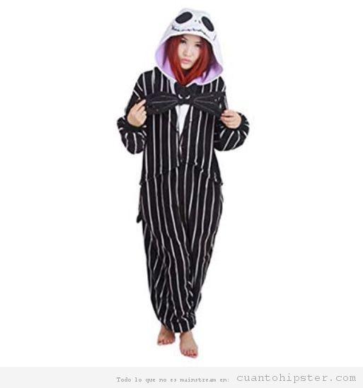 Pijama friki Jack pesadilla antes de Navidad