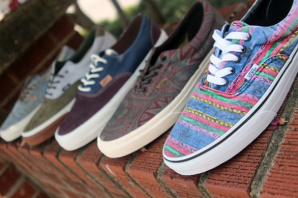 Zapatillas hipsters Vans estampadas
