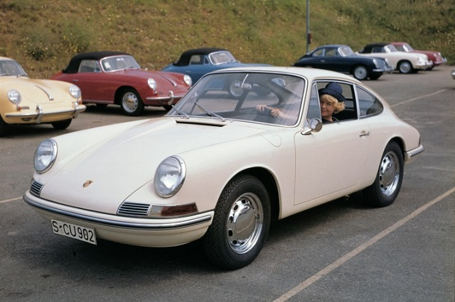 Coche hipster Porsche 911