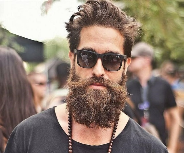 barba y bigote hipster