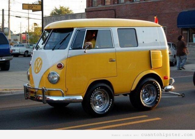 Furgoneta Volkswagen Camper restaurada versión pequeña