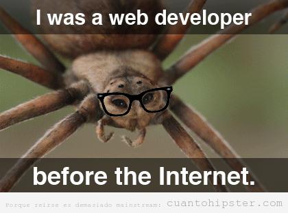La araña hipster desarrollaba redes antes de que existiese internet