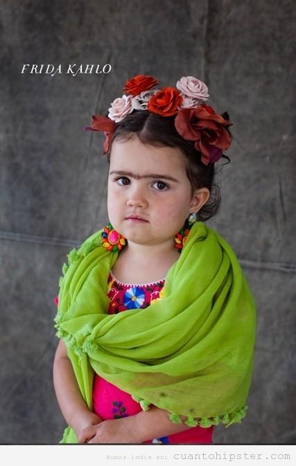 Disfraz original de Halloween de Frida Khalo