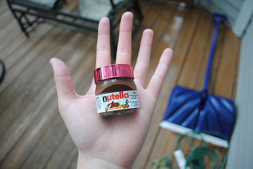 Bote de Nutella en miniatura