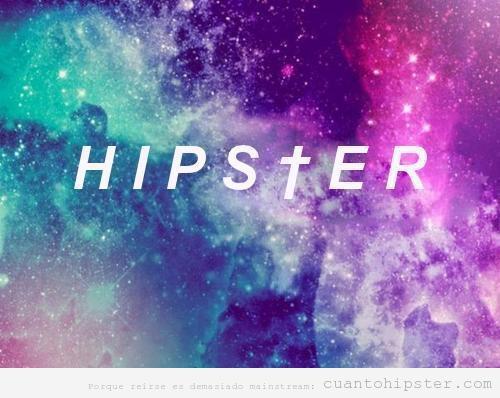imagen nebulosa cósmica hipster
