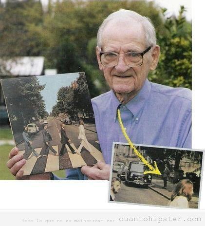 Photobomb, hombre Abbey Road Beatles, jodefotos