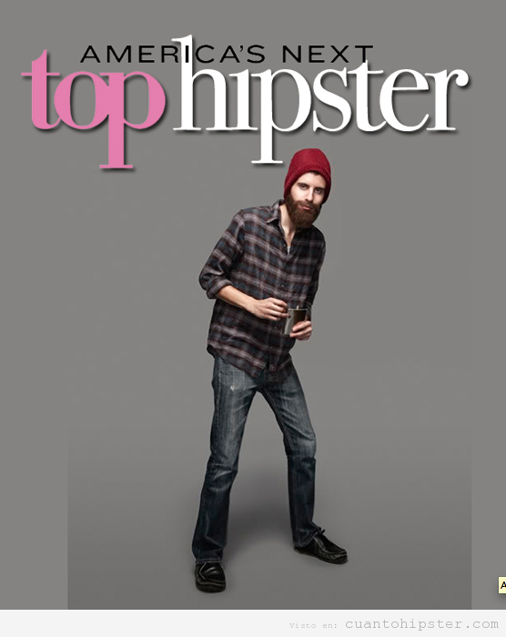 Foto graciosa, American Next Top hIpster reality show