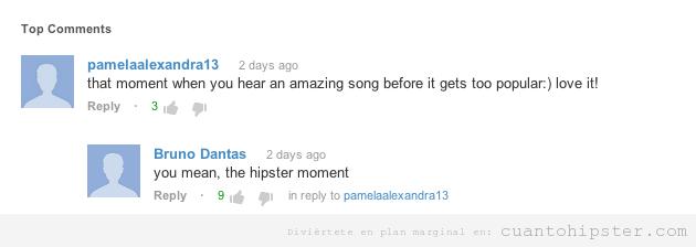 -estado hipster de Facebook, la canción que todavía nadie conoce