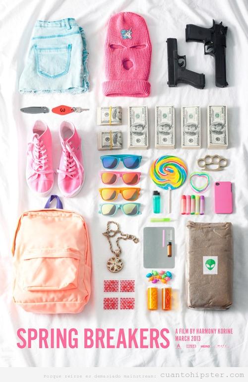 Kit de accesorios y objetos para un verano de festivales indies