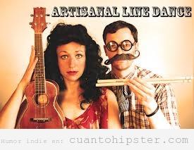 Portada graciosa de una pareja musical indie, verdadero o falso