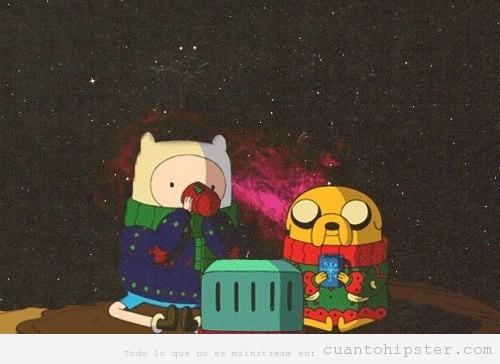 Hora de aventuras en el cosmos