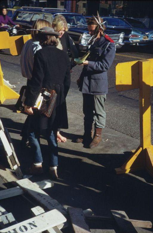 Fotos de hippie hipsters en San Francisco 1968