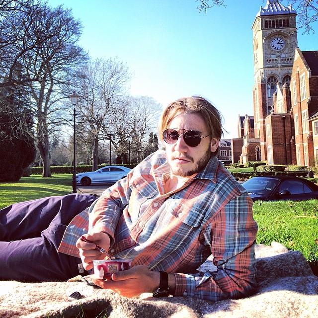 Nicklas Bendtner hipster de picnic