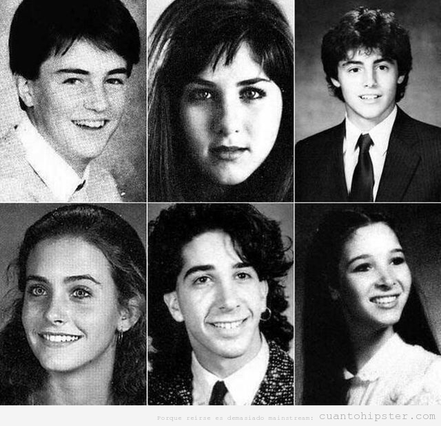 Foto anuario instituto de los actores de Friends