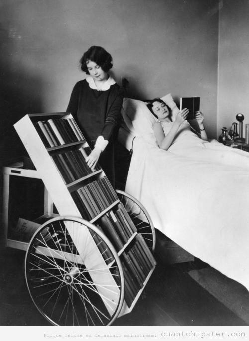 LA Public Library. biblioteca pública con ruedas