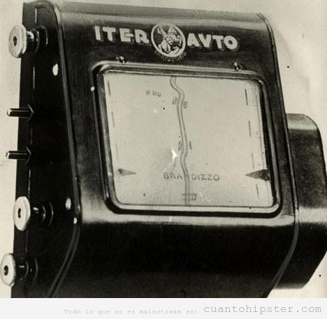Fotos antiguas GPS analógico 1930