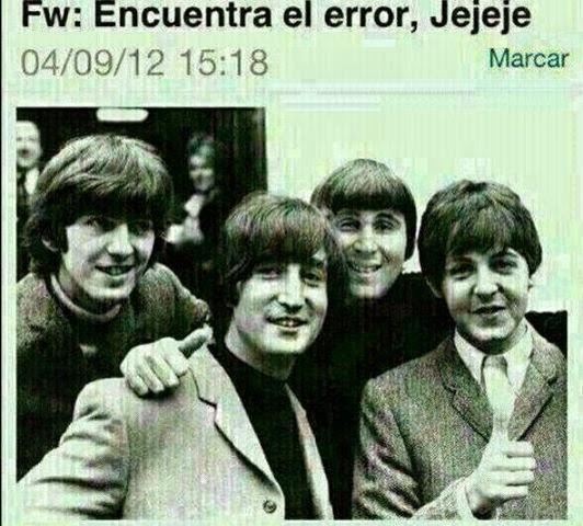 Fotomontaje gracioso The Beatles con Paquirrín