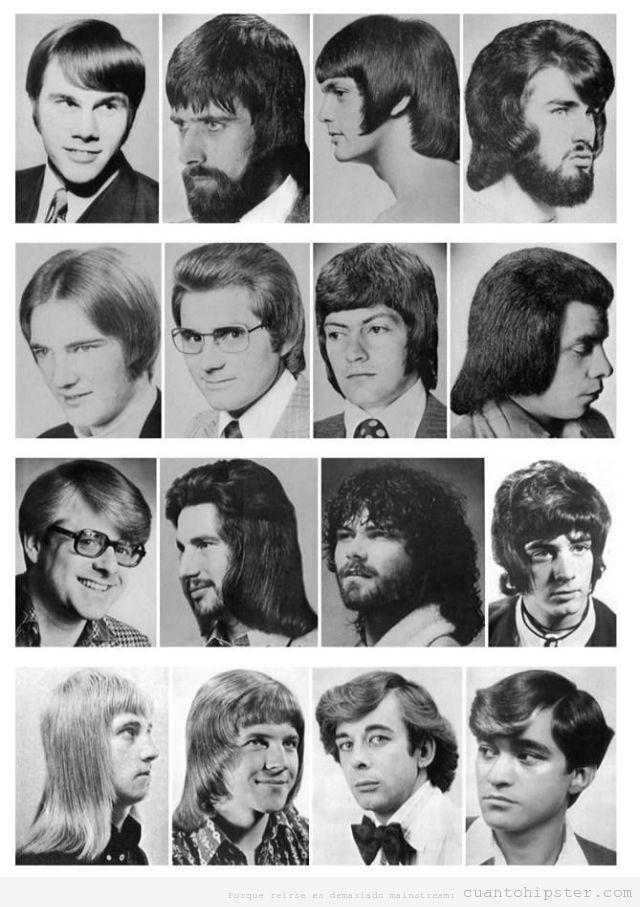 Fotos de peinados vintage y hipsters