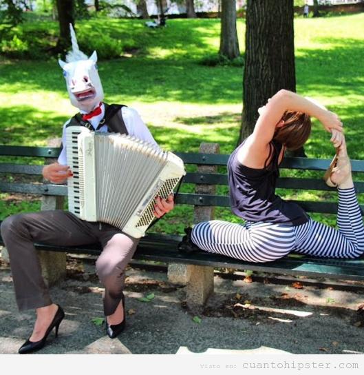 Foto graciosa performance Brooklyn