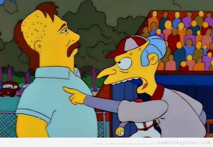Peinado  pelo hipster Macklemore, The Simpsons