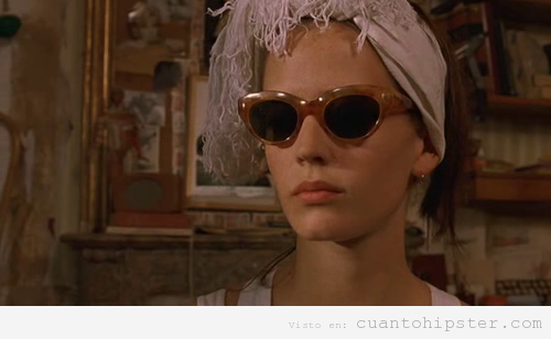 Look hipster vintage de Eva Green The Dreamers