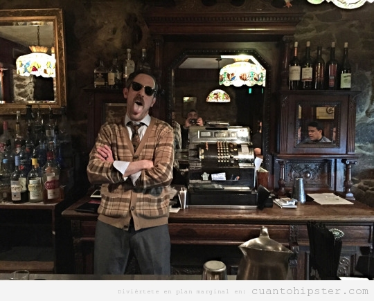 Bar vintage para hipsters